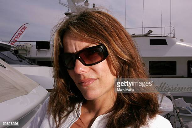 Actress Sara Stockbridge poses at a photocall promoting the film Rag Tale at the Scion Boat CD2 during the 58th International Cannes Film Festival...