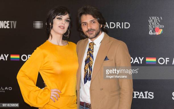 Actress Sara Vega attends 'The Best Day Of My Life' Madrid premiere at Callao cinema on March 13 2018 in Madrid Spain