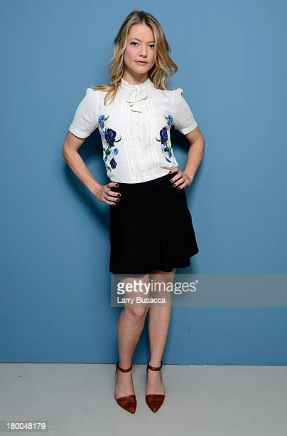 Actress Sarah Allen of 'The Husband' poses at the Guess Portrait Studio during 2013 Toronto International Film Festival on September 8 2013 in...