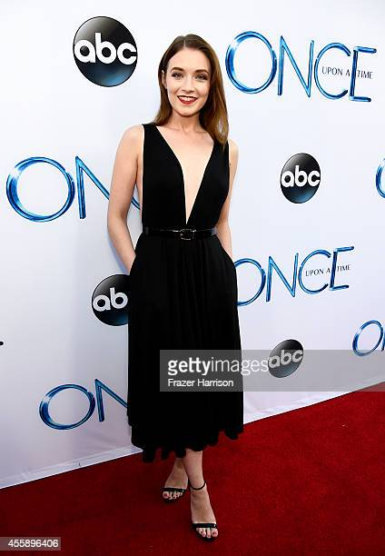 Actress Sarah Bolger attends a screening of ABC's 'Once Upon A Time' Season 4 at the El Capitan Theatre on September 21 2014 in Hollywood California
