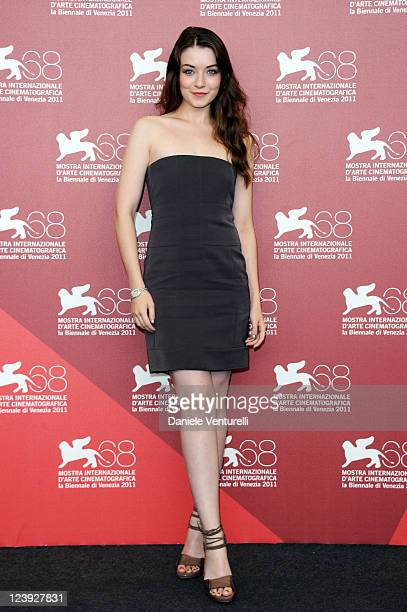 Actress Sarah Bolger attends the 'The Moth Diaries' Photocall during the 68th Venice International Film Festival at Palazzo del Casino on September 6...