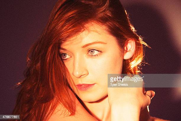 Actress Sarah Bolger is photographed for Self Assignment on August 11 2013 in Los Angeles California