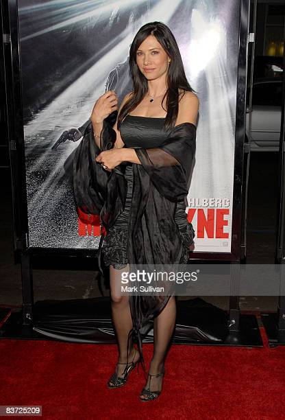 Actress Sarah Brown arrives at the 'Max Payne' Los Angeles Premiere at the Mann's Grauman Chinese Theater on October 13 2008 in Hollywood California