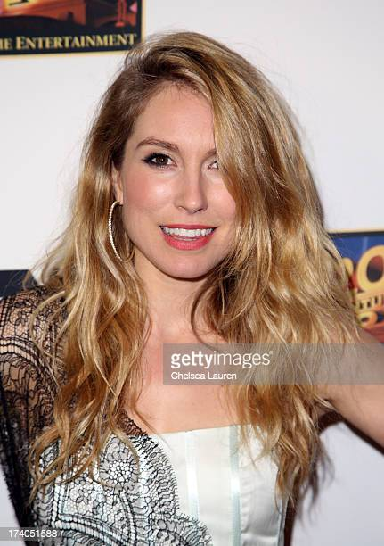 Actress Sarah Carter attends the Maxim FX and Home Entertainment ComicCon Party on July 19 2013 in San Diego California