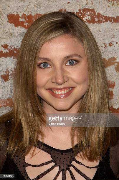 Actress Sarah Chalk attends the premiere of the film '40 Days and 40 Nights' February 20 2002 in Los Angeles CA