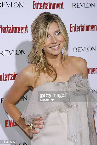 Actress Sarah Chalke arrives at the Entertainment Weekly's 5th Annual Pre-Emmy Party at Opera and Crimson on September 15, 2007 in Hollywood,...