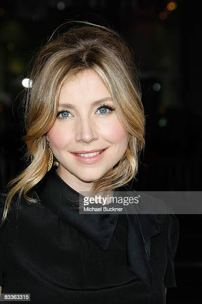 Actress Sarah Chalke arrives at the premiere of Weinstein Company's Zack and Mira Make A Porno at Grauman's Chinese Theater on October 20 2008 in Los...