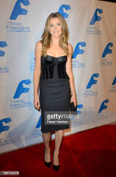 Actress Sarah Chalke arrives at The Saban Free Clinic's Gala Honoring ABC Entertainment Group President Paul Lee and Bob Broder at The Beverly Hilton...