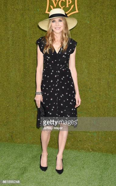 Actress Sarah Chalke attends the 8th Annual Veuve Clicquot Polo Classic at Will Rogers State Historic Park on October 14 2017 in Pacific Palisades...