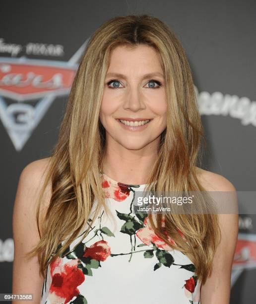 Actress Sarah Chalke attends the premiere of Cars 3 at Anaheim Convention Center on June 10 2017 in Anaheim California