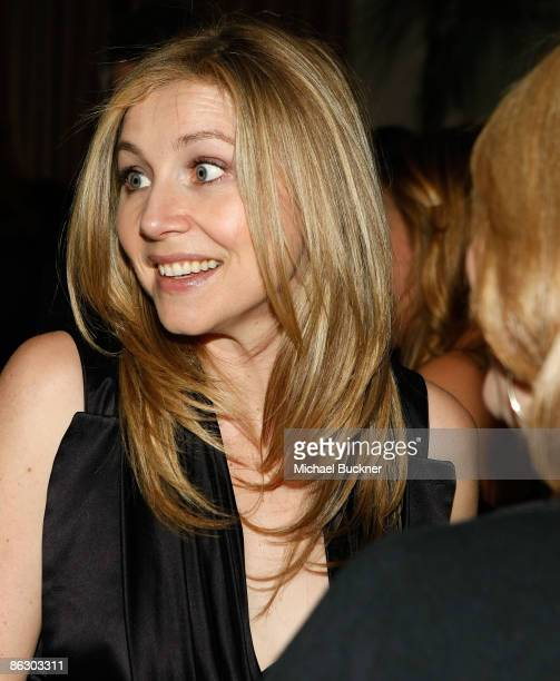 Actress Sarah Chalke attends the Women in Film MaxMara Face of the Future 2009 Cocktail Party at the Sunset Tower Hotel on April 29 2009 in West...