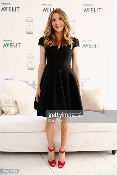 Actress Sarah Chalke celebrates Nourishing Moments with Philips Avent at Gary's Loft on July 28 2016 in New York City