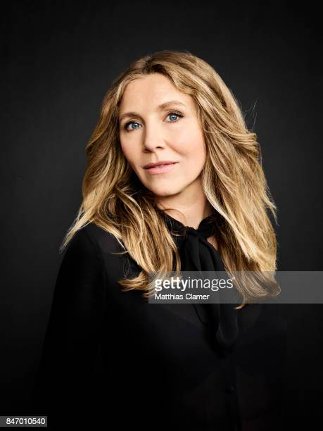 Actress Sarah Chalke from 'Rick and Morty' is photographed for Entertainment Weekly Magazine on July 22 2016 at Comic Con in the Hard Rock Hotel in...