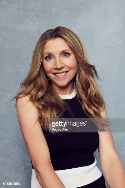 Actress Sarah Chalke of Adult Swim's 'Rick and Morty' poses for a portrait during ComicCon 2017 at Hard Rock Hotel San Diego on July 22 2017 in San...
