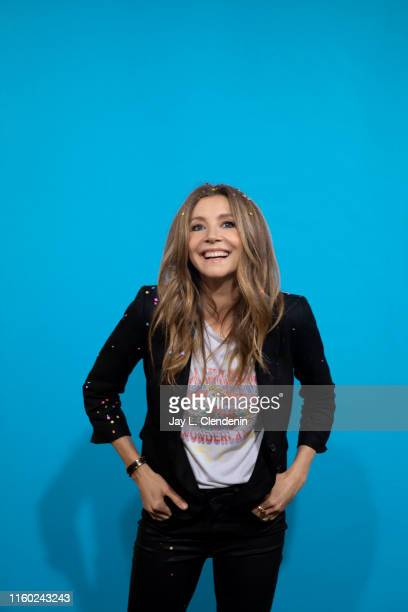 Actress Sarah Chalke of 'Rick and Morty' is photographed for Los Angeles Times at Comic-Con International on July 20, 2019 in San Diego, California....