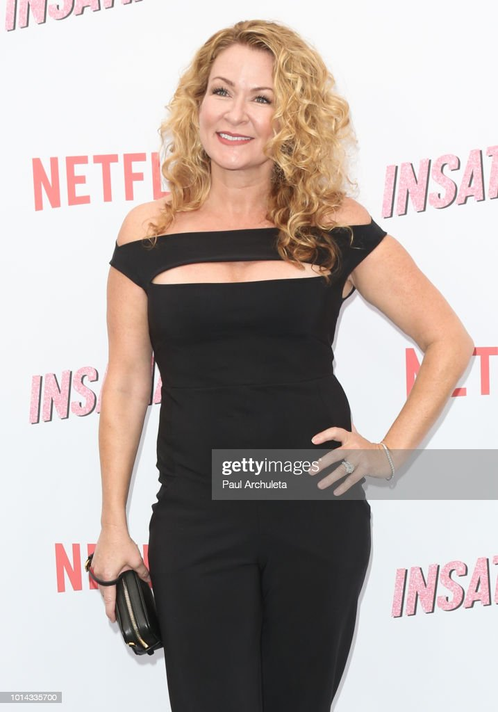 Actress Sarah Colonna attends Netflix's 'Insatiable' season 1 premiere at ArcLight Hollywood on August 9, 2018 in Hollywood, California.