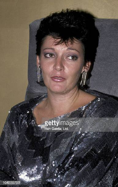 Actress Sarah Douglas attends the grand opening of The Spellbound on September 18 1985 in Atlanta Georgia