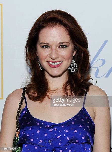 Actress Sarah Drew arrives at the second night of the grand opening party of Fig & Olive Melrose Place on March 3, 2011 in West Hollywood, California.