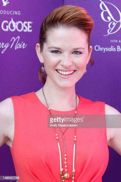Actress Sarah Drew attends the 11th Annual Chrysalis Butterfly Ball on June 9 2012 in Los Angeles California