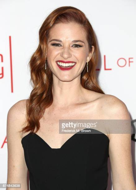 Actress Sarah Drew attends the Television Academy's 24th Hall of Fame Ceremony at the Saban Media Center on November 15 2017 in North Hollywood...