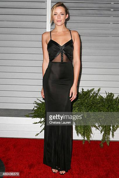 Actress Sarah Dumont arrives at Maxim Hot 100 at Pacific Design Center on June 10 2014 in West Hollywood California