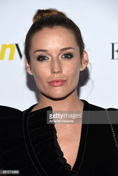 Actress Sarah Dumont arrives at Teen Vogue's 13th Annual Young Hollywood Issue Launch Party on October 2 2015 in Los Angeles California