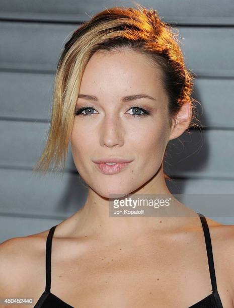 Actress Sarah Dumont arrives at the MAXIM Hot 100 Celebration Event at Pacific Design Center on June 10 2014 in West Hollywood California