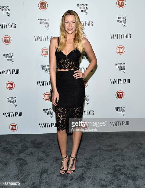 Actress Sarah Dumont arrives at the Vanity Fair and Fiat Toast to 'Young Hollywood' in support of the Terrence Higgins Trust at No Vacancy on...