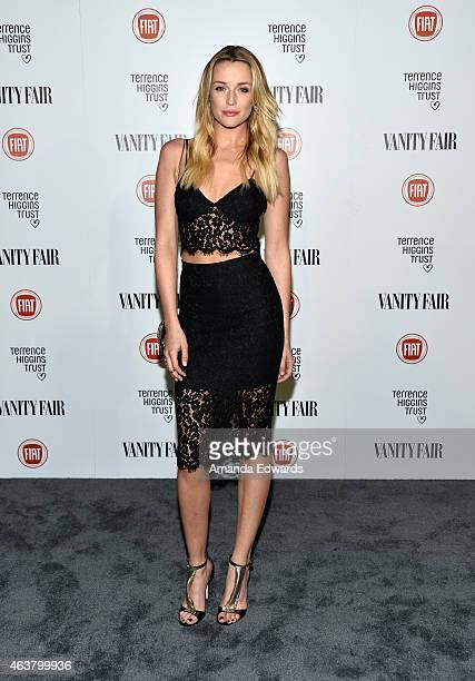 Actress Sarah Dumont arrives at the Vanity Fair and Fiat Toast to Young Hollywood in support of the Terrence Higgins Trust at No Vacancy on February...