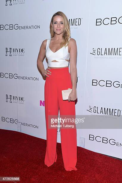 Actress Sarah DuMont attends NYLON Magazine and BCBGeneration's Annual May Young Hollywood Issue Party at HYDE Sunset Kitchen Cocktails on May 7 2015...