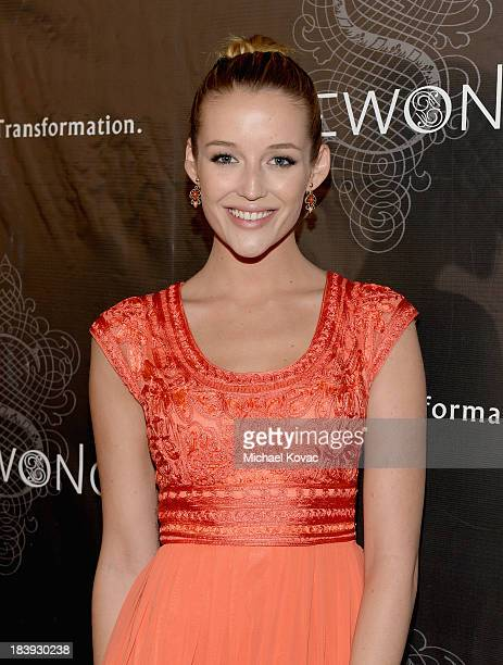 Actress Sarah Dumont attends Sue Wong Jazz Babies Spring 2014 Runway Show on October 9 2013 in Los Angeles California