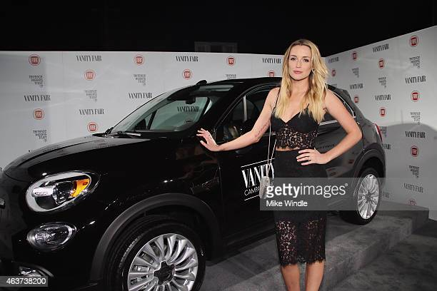Actress Sarah Dumont attends Vanity Fair and FIAT celebration of Young Hollywood hosted by Krista Smith and James Corden to benefit the Terrence...