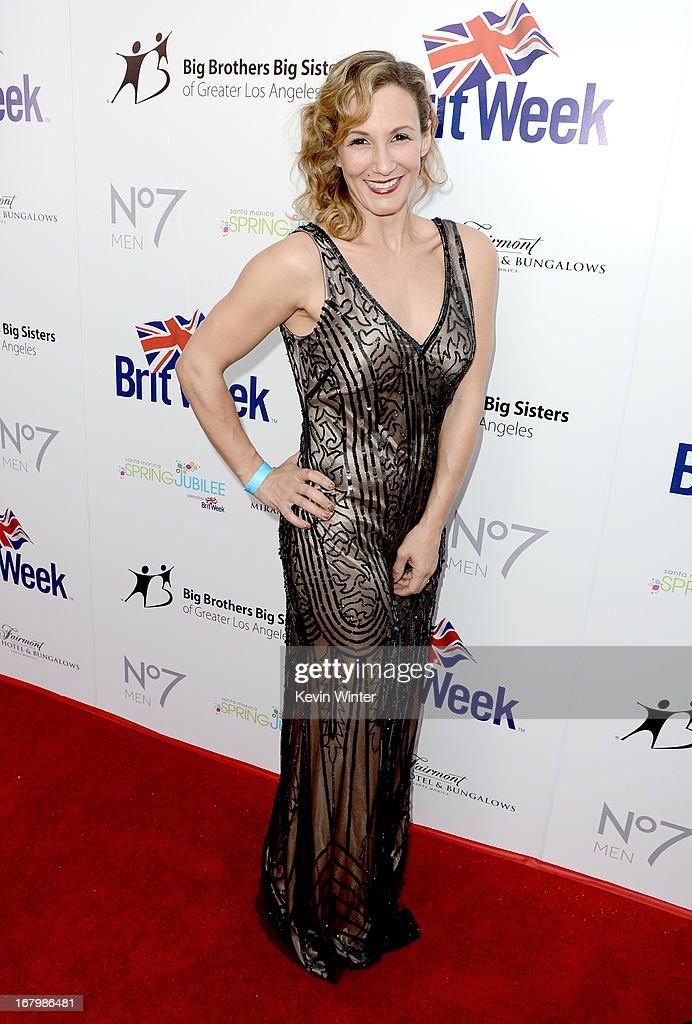 Actress Sarah Farooqui attends BritWeek Celebrates Downton Abbey at The Fairmont Miramar Hotel on May 3, 2013 in Santa Monica, California.