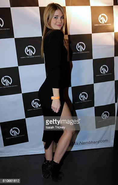 Actress Sarah Fisher attends the Allstar Champions Gala at Exhibition Grounds on February 13 2016 in Toronto Canada
