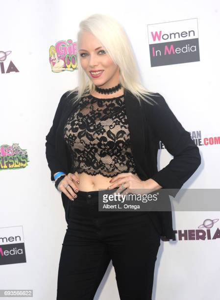 Actress Sarah French arrives for Etheria Film Night held at The Egyptian Theatre on June 3 2017 in Los Angeles California