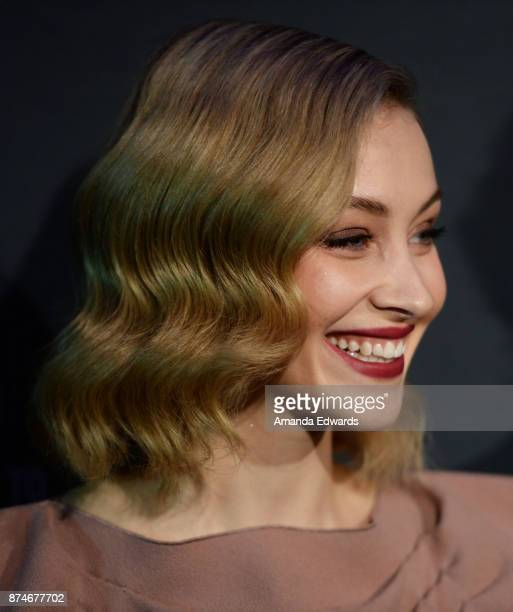 Actress Sarah Gadon arrives at the AFI FEST 2017 Presented By Audi Cinema Italian Style KickOff Event and Inaugural Cinecitta Key Award Ceremony at...