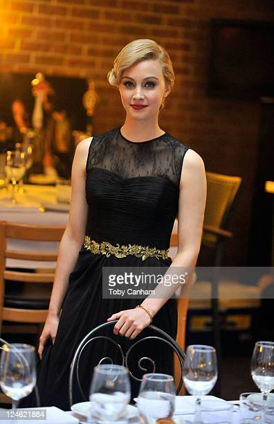 Actress Sarah Gadon attends Sony Pictures Classic Cocktail Party at Creme Brasserie during the 2011 Toronto International Film Festival on September...