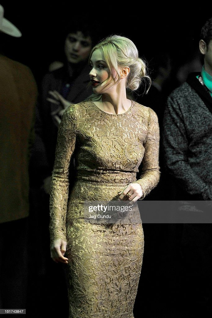 Actress Sarah Gadon Attends The Antiviral Premiere During The 2012