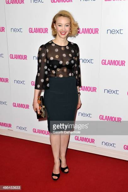 Actress Sarah Gadon attends the Glamour Women of the Year Awards at Berkeley Square Gardens on June 3 2014 in London England