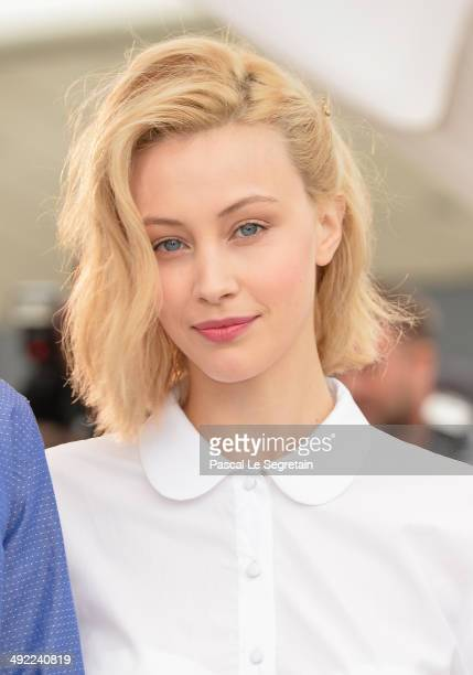 Actress Sarah Gadon attends the 'Maps To The Stars' photocall during the 67th Annual Cannes Film Festival on May 19 2014 in Cannes France