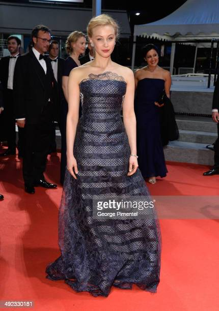 Actress Sarah Gadon attends the 'Maps To The Stars' Premiere at the 67th Annual Cannes Film Festival on May 19 2014 in Cannes France