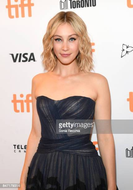 Actress Sarah Gadon attends The World Premiere of the Limited Series 'Alias Grace' starring Sarah Gadon from Sarah Polley directed by Mary Harron at...