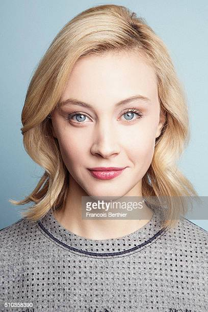 Actress Sarah Gadon is photographed for Self Assignment on February 14 2016 in Berlin Germany