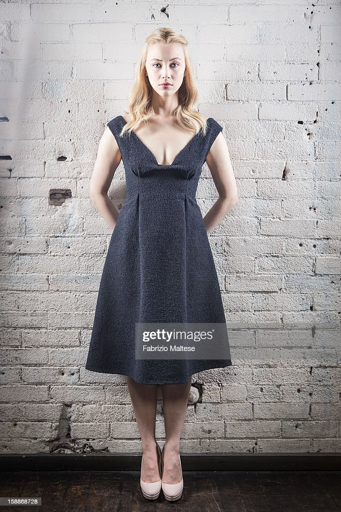 Actress Sarah Gadon is photographed for Self Assignment on September 11, 2012 in Toronto, Ontario.