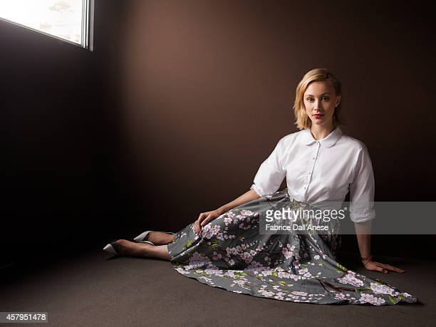 Actress Sarah Gadon is photographed for Vanity Fair Italy on May 15 2014 in Cannes France