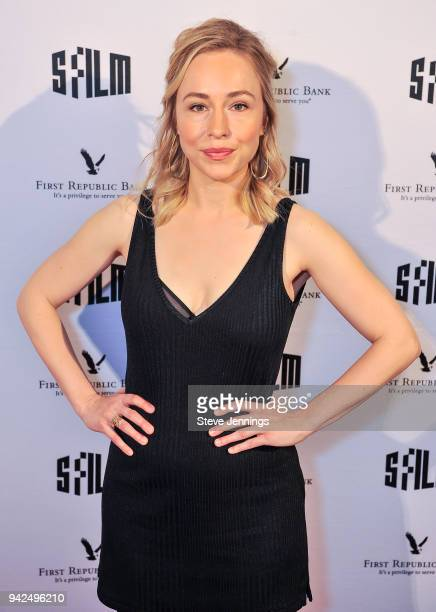 Actress Sarah Goldberg attends the San Francisco Film Festival Premiere of 'Barry' at Victoria Theatre on April 5 2018 in San Francisco California