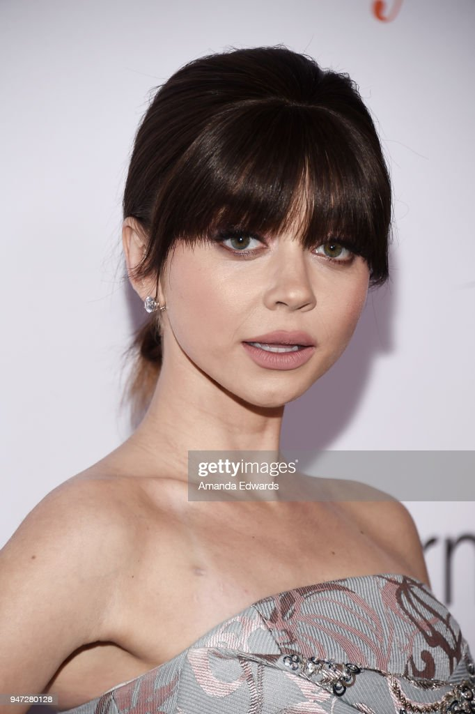 Actress Sarah Hyland arrives at the FYC Event for ABC's 'Modern Family' at Avalon on April 16, 2018 in Hollywood, California.