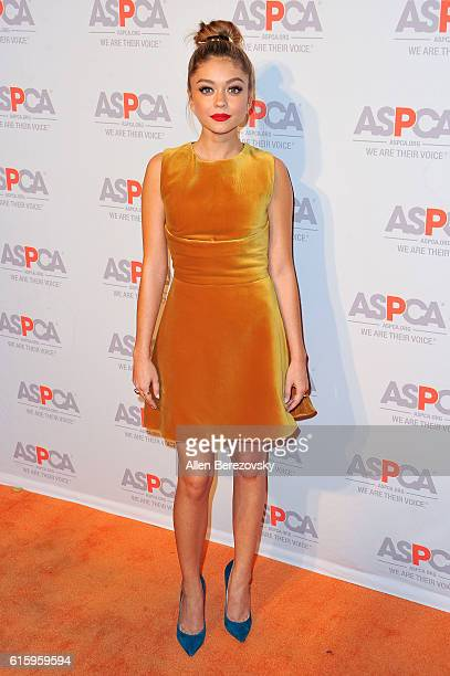 Actress Sarah Hyland attends ASPCA Benefit event at Private Residence on October 20 2016 in Los Angeles California