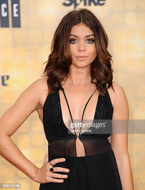 Actress Sarah Hyland attends Spike TV's Guys Choice 2016 at Sony Pictures Studios on June 4 2016 in Culver City California