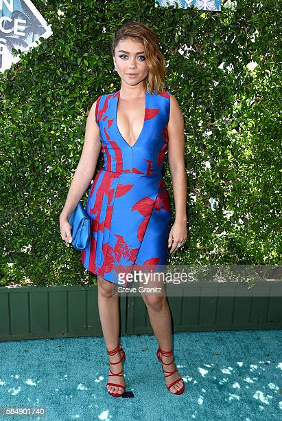 Actress Sarah Hyland attends Teen Choice Awards 2016 at The Forum on July 31 2016 in Inglewood California